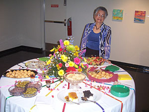 Some of the Yummies for Opening Reception